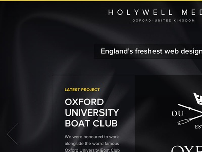 Holywell Media website design