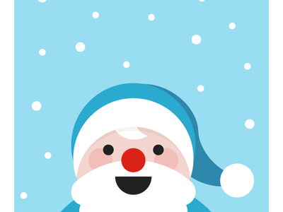 Intech New Year Cards 2018 illustration santa claus new year gifts snow christmas greetings card 2018 snowman