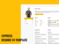 Cvpress Bootstrap CV Resume Template