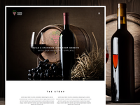 Wine Shop Responsive Bootstrap Wine Template