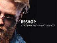 BeShop Bootstrap Shop Ecommerce Site Template