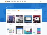Catalog Marketplace Site Template