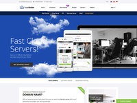 HostHubs Responsive Web Hosting Website Template
