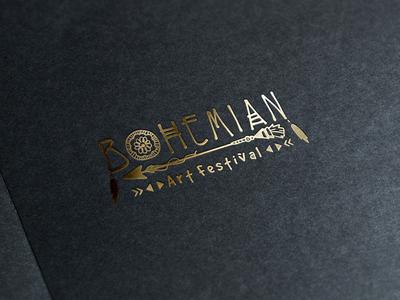 Bohemian Art Festival Logo Design