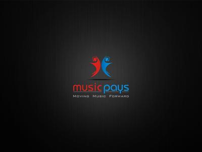 Music pays Logo Design