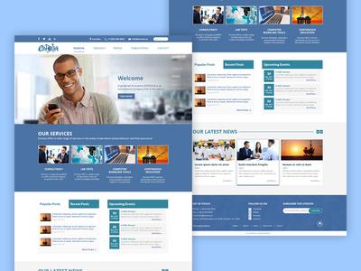 Ennova Website Design