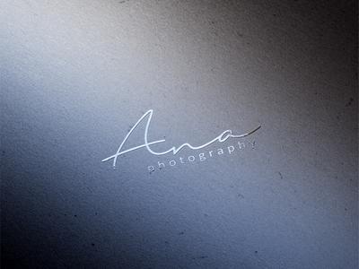 Ana Photography Logo Design