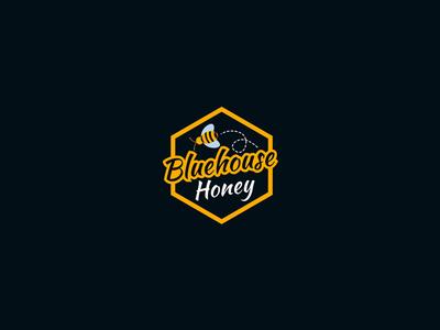 Bluehouse Honey Logo Design for 99designs