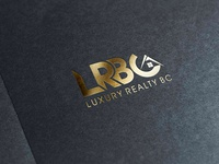 LRBC Logo cool graphic letters lettering typography awesome vector design creative logo