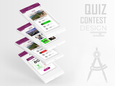 Quiz/Contest App Design