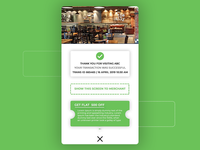Receipt | Checkout | Food Ordering App