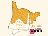 Patiala royal city dribbble meetup teaser
