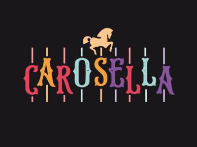 Vintage carousel Logo design carousel identity logo typography corporate identity branding brand