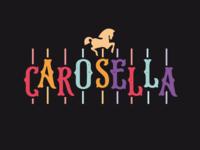 Vintage carousel Logo