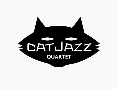 Catjazz band logo quartet music jazz logo identity corporate identity design branding brand