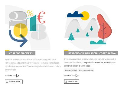 Web in progress corporate website responsive web visual design illustration design