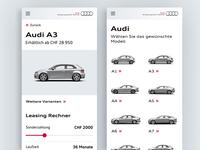 Audi QR App for AMAG