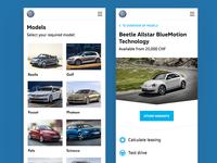 Volkswagen QR App for AMAG