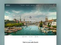 Zurich Tourism Startpage