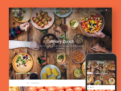 Explore Zurich – Zurich Tourism get inspired explore section explore redesign relaunch startpage tourism zurich zuerich