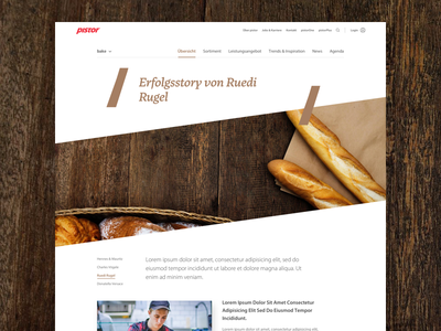 Pistor Content page (story) story text detail content detailpage contentpage pistor
