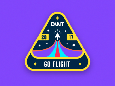 DWT Patch #2 week vector tallahassee space planet patch nasa design badge