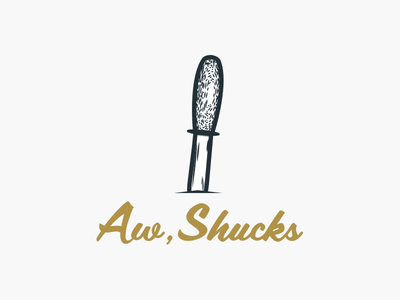 Oyster Asset #2 shucking knife oyster illustration graphic design local