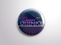 AIGA Tallahassee: Designer Drinks Pin