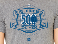 500 Million Members!