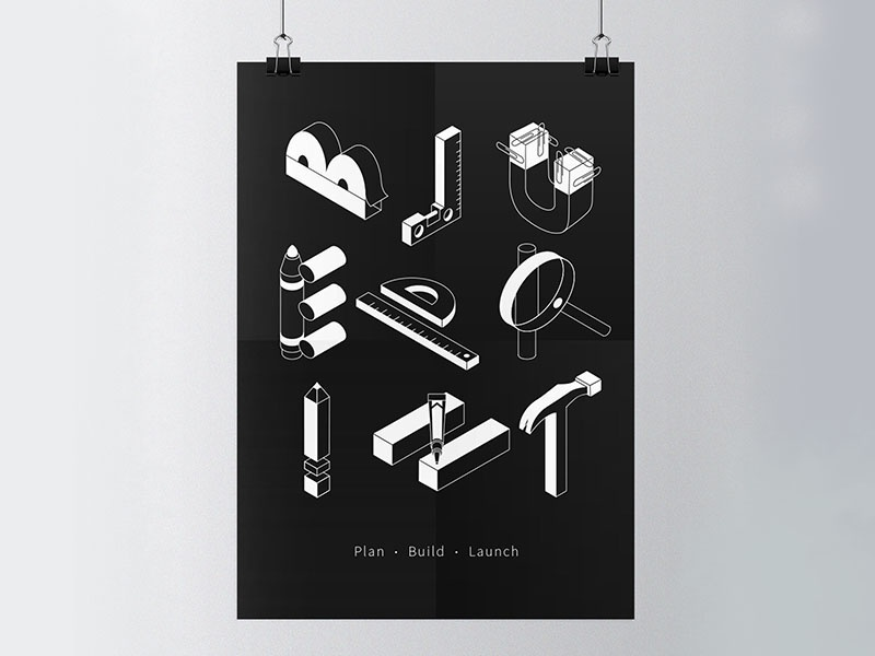 Design Intern Open House perspective poster shirt tshirt blueprint linkedin design intern