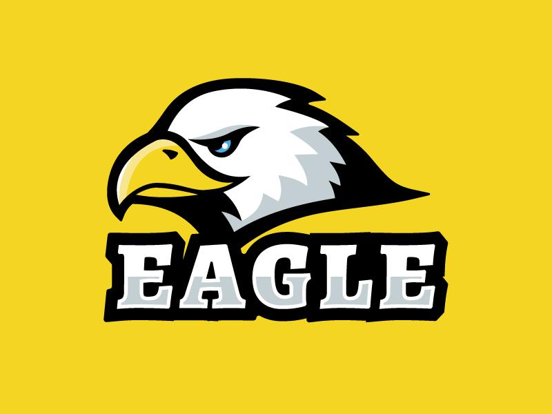 Eagle illustration emblem eagle logo