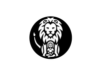 Lion and Girl logo