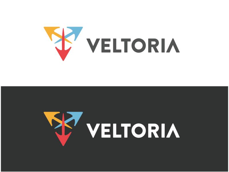 Veltoria illustration logo