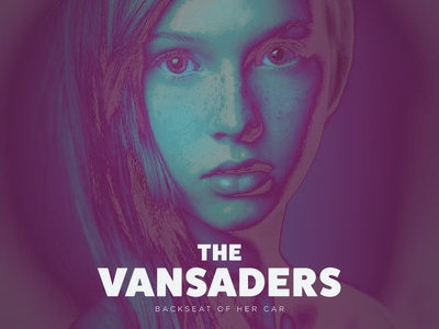 Vansaders Single Cover album color posterize solarize