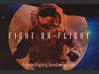 Fight or Flight Sticker