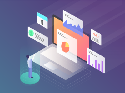 Data Analysis isometric illustrations branding colorful admin panel creative design product dashboard ios android devices agency landing page web design data visualizing design mobile app ui ux isometric illustration data analysis