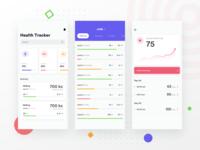 Fitness ios app design