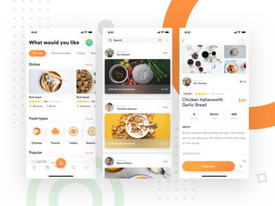 Food delivery/Restaurant/Catering app typography app food and beverage drink coffee catering restaurant food icon branding minimal creative design web design product landing page dashboard ios illustration ux mobile app mobile app ios android