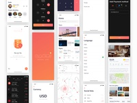 Gauri Travel iOS app UI Kit