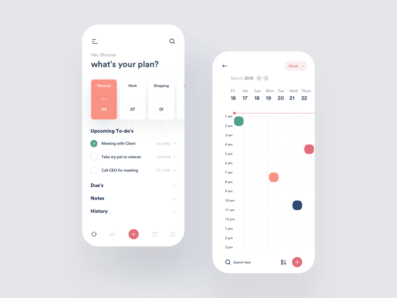 To-do list app design nice100 agency team illustration vector icon agency branding logo minimal creative colorful trendy productivity to-do list ios android landing page app design lead marketing data web design page ui  ux
