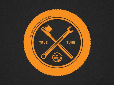 True Tune Shirt 02 auto orange icon tire wrench ratchet logo
