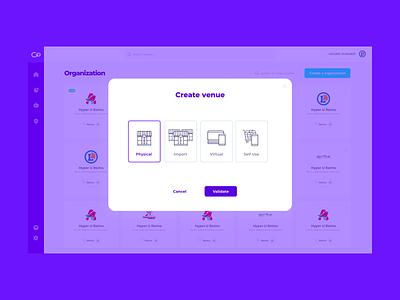 GoBeep - BackOffice - Venue editor app ux ui