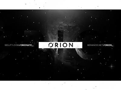 Orion Header Particular universe artwork sky stars dark black orion