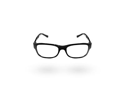 Glasses. rayban glasses black white minimal