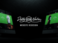Dolly Noire Website Redesign.