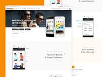 Jabong.com App Landing Page