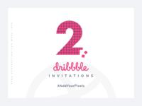 Dribbble Invite #AddYourPixels
