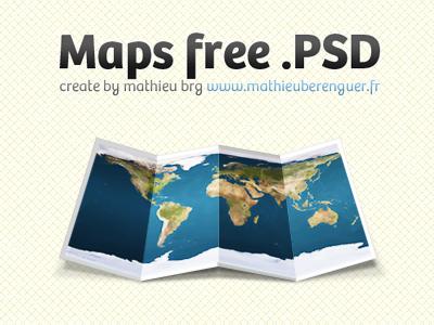 Map free psd odin mathieu map maps free psd brg ui design france odin nantes