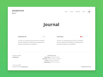 Odindesign Journal