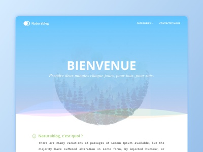 Naturablog ui nantes design blog nature